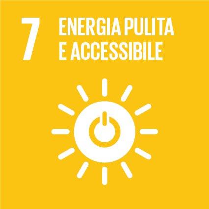 SDGs 7.  Assicurare a tutti l'accesso a sistemi di energia economici, affidabili, sostenibili e moderni