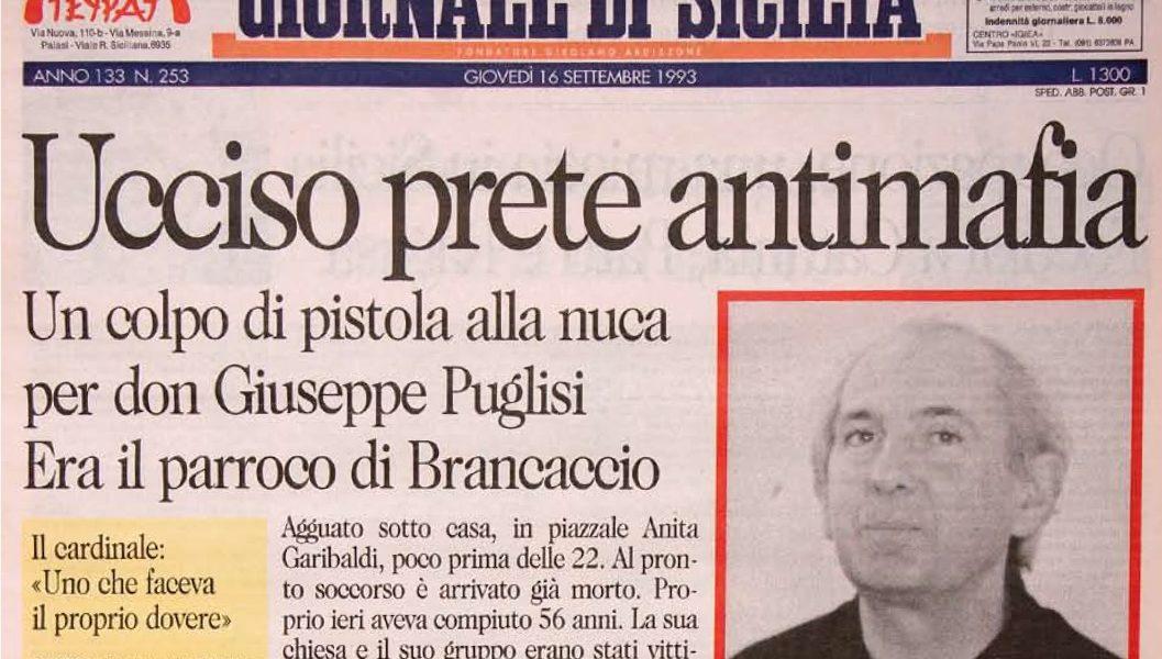 """""""UCCISO PRETE ANTIMAFIA!"""""""
